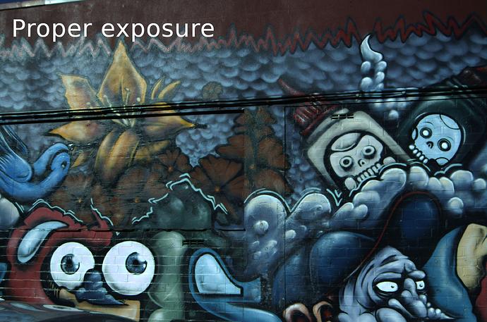 Proper exposure