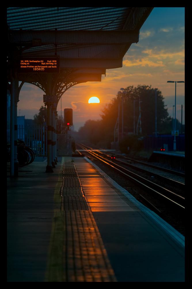 sunset.at.trainstation.ko