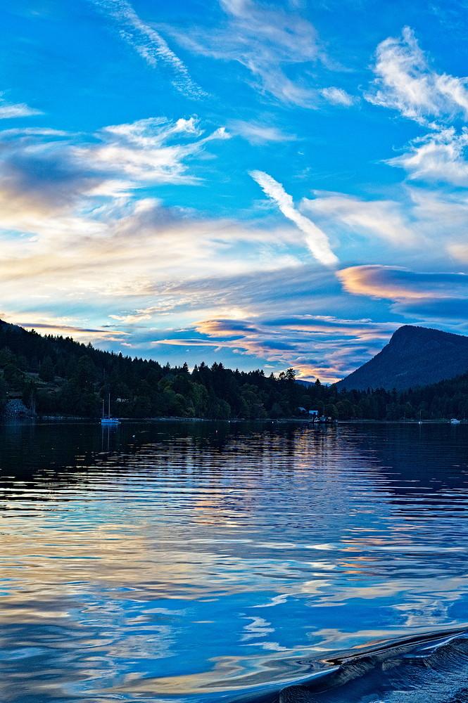 Ferry sunset-4