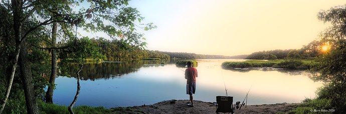 FIshing West Reservoir